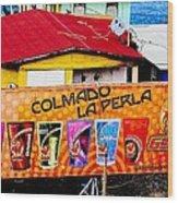 Roots Of La Perla At Old San Juan Wood Print