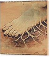 Roots Wood Print by Paulo Zerbato