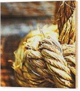 #rope Wood Print