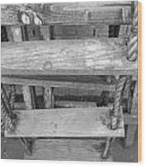 Rope Ladder Wood Print