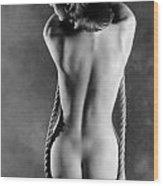 Rope Swing Wood Print