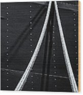 Ropes Wood Print