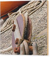 Ropes And Chains Wood Print