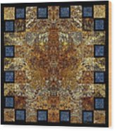 Rorshach Yantra Nine Oh Four Wood Print
