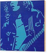 Rory Gallagher Wood Print