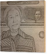 Rosa Parks Imagined Progress Wood Print by Irving Starr