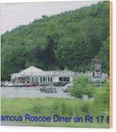 Roscoe Ny Diner Wood Print