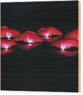 Rose 004 Wood Print
