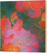 Rose 187 Wood Print