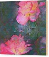 Rose 194 Wood Print by Pamela Cooper