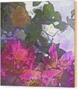 Rose 206 Wood Print by Pamela Cooper