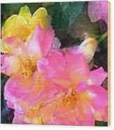 Rose 211 Wood Print