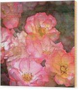 Rose 212 Wood Print