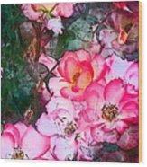 Rose 239 Wood Print