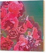 Rose 248 Wood Print