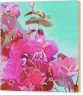 Rose 249 Wood Print