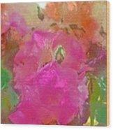 Rose 256 Wood Print