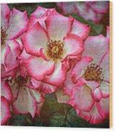 Rose 298 Wood Print
