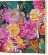 Rose 304 Wood Print