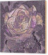 Rose Art # 1 Wood Print