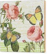 Rose Blush-a Wood Print