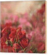 Rose Bouquet Wood Print