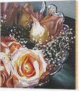 Rose Bowl Wood Print