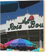 Rose Bowl Wood Print
