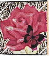 Rose By Any Other Name Wood Print