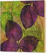 Rose Clippings Mural Wall Wood Print