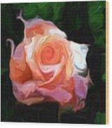 Rose Colored Wood Print