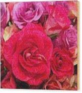 Rose Enhanced Wood Print