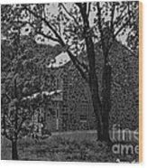 Rose Farm House-gettysburg Wood Print