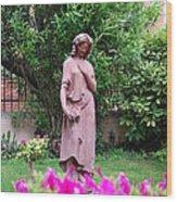 Rose Garden 1 Wood Print