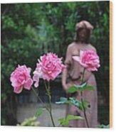 Rose Garden 3 Wood Print