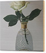 Rose II  Wood Print