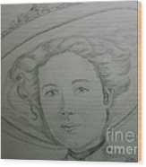 Rose Kennedy 1900's Wood Print
