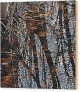 Rose Lake Wood Print