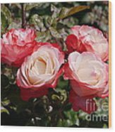 Rose Nostalgia  Wood Print