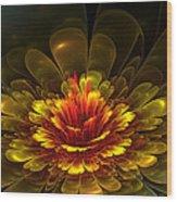 Rose Of Demina Wood Print
