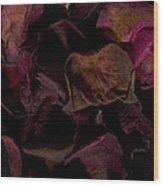 Rose Petals #4 Wood Print