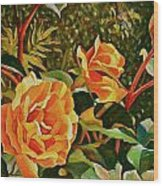 Rose Ridge Wood Print