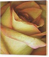 Rose Scan Softened Wood Print