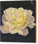 Rose Stars Wood Print