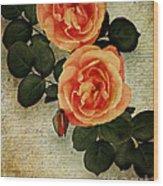 Rose Tinted Memories Wood Print