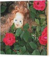 Rosebud Joy Wood Print
