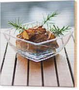 Rosemary Potatoes Wood Print
