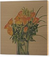Roses For My Sweetie Wood Print
