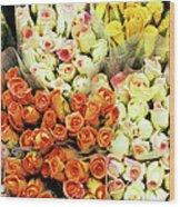 Roses 01 Wood Print