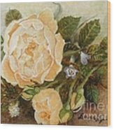 Roses Sublime Wood Print